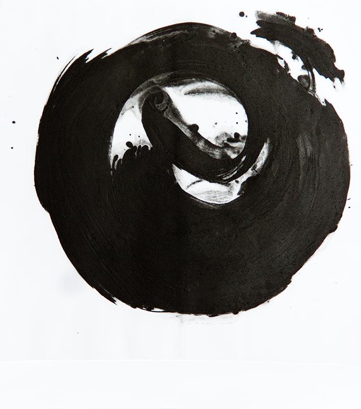 Ensō 50 x 56 cm