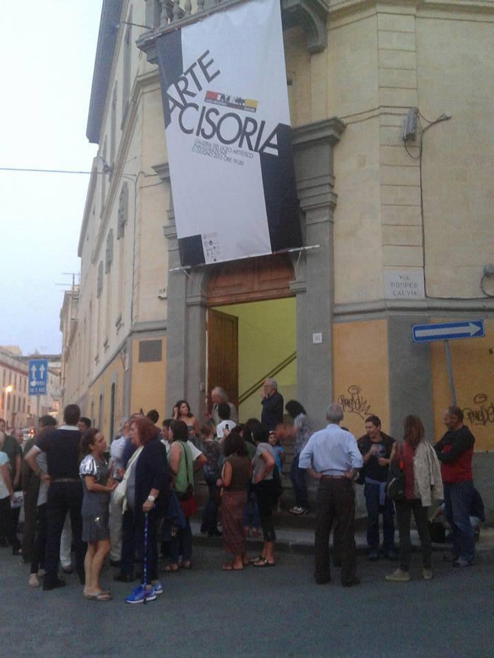 ARTE CISORIA, en el LICEO ARTÍSTICO de SASSARI (Cerdeña). Foto: Rosa Sala