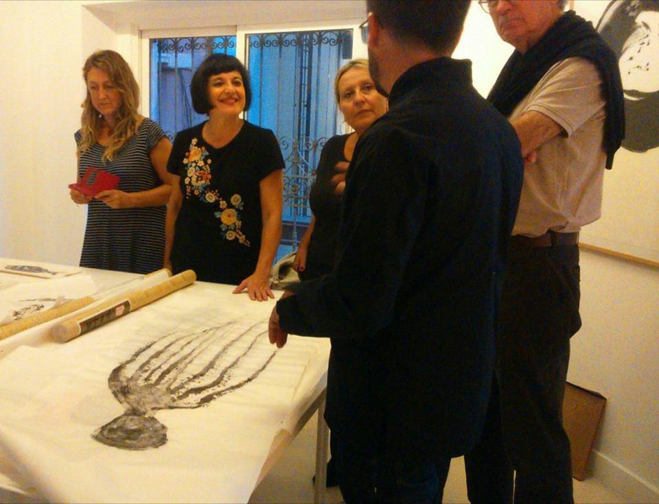Gyotaku · Taller de Estampación · Santamaca